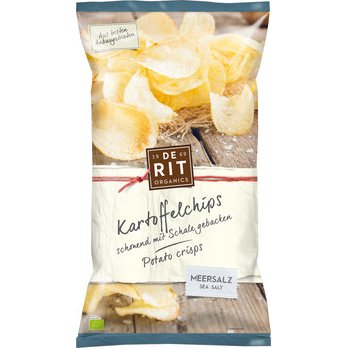 Kartoffelchips Meersalz